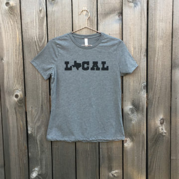 Local Gray Womens